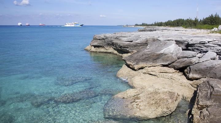 Kustlijn Bahamas