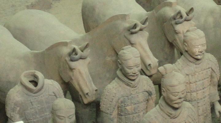 Terracottaleger Xi'an