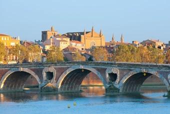 De Franse stad Toulouse