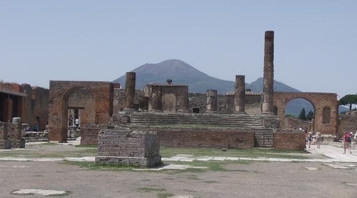resten van Pompeji, Italië
