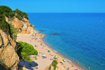 Het Spaanse strand