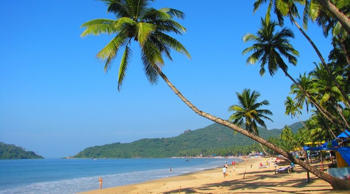 Het strand van Goa