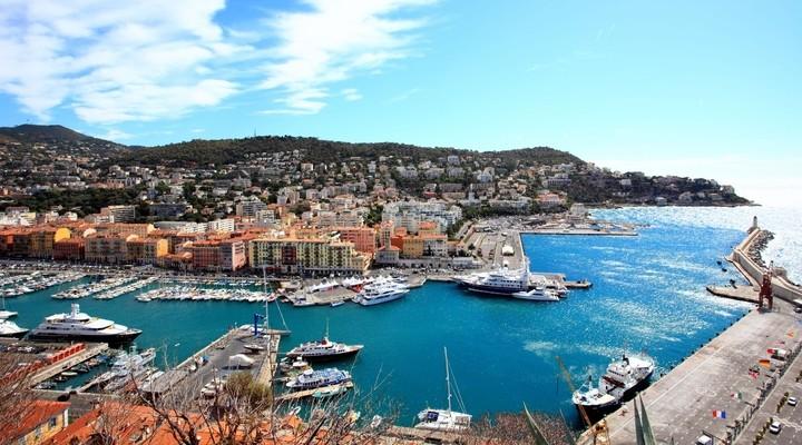 Haven van Nice, Zuid-Frankrijk