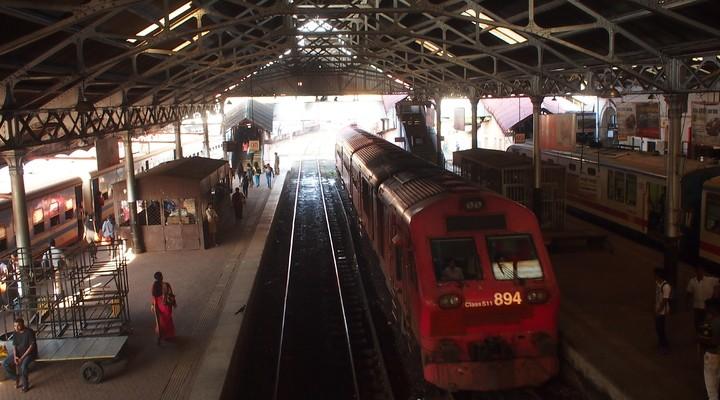 Het treinstation van Colombo