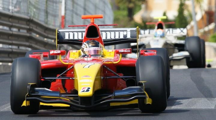 Formule 1 raceauto, Monaco, stratencircuit