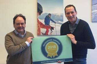 Oostenrijk wint Reisgraag Award 2018