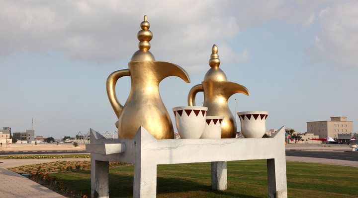 Arabische koffiepot Al Khor Qatar
