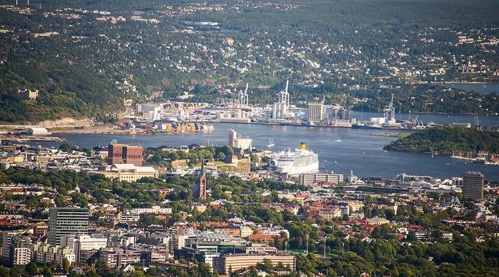 Oslo stadsbeeld, Noorwegen