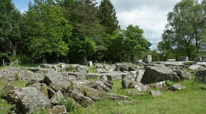 Landschap Limousin in Frankrijk