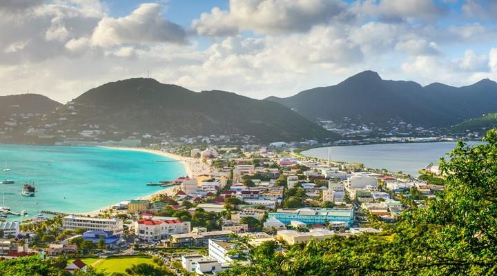 Philipsburg in Sint Maarten