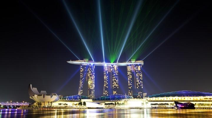 Marina Bay hotel Singapore