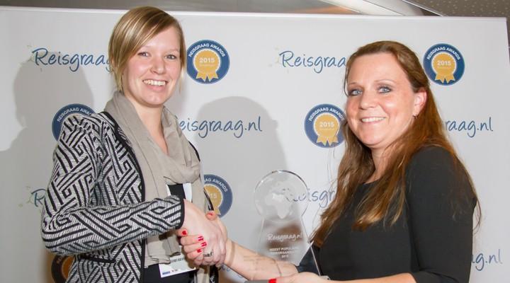 Effeweg met Reisgraag award