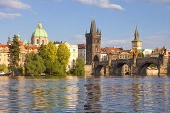 Karelsbrug Praag in Tsjechie