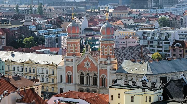 Stadsbeeld Plzen - Tsjechië