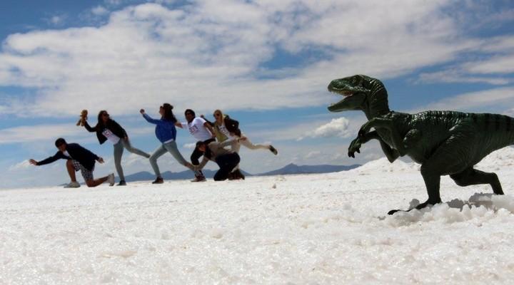 Een van onze originele Uyuni foto's