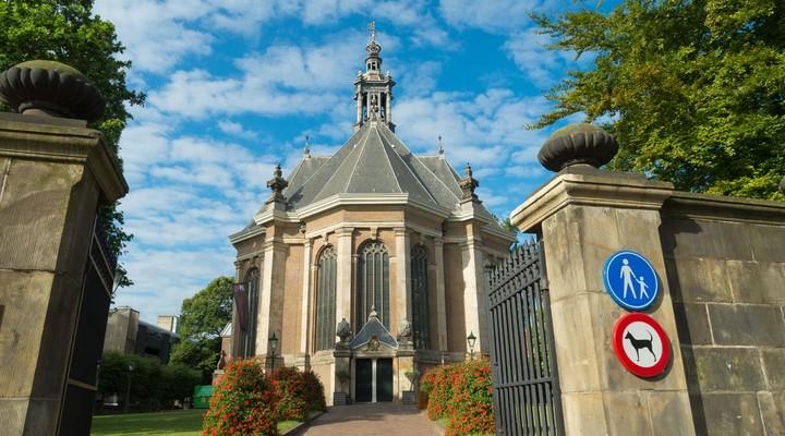 Nieuwe kerk in Den Haag, Nederland