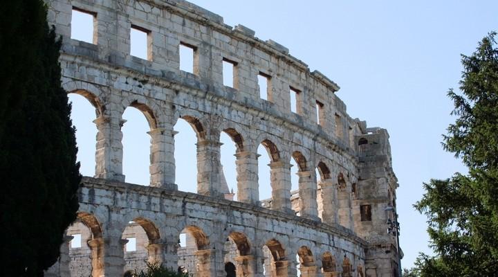 Amfitheater Pula, Kroatie