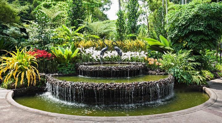 National Orchid Garden in de Botanic Gardens