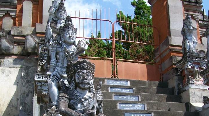 Ingang boeddhistische tempel