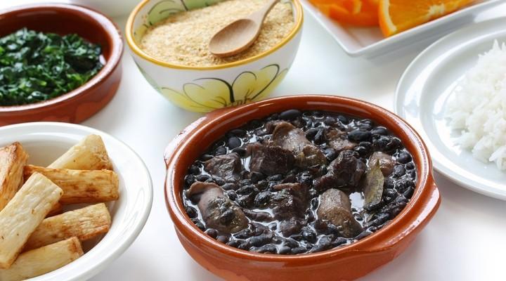 Feijoada uit de Braziliaanse keuken