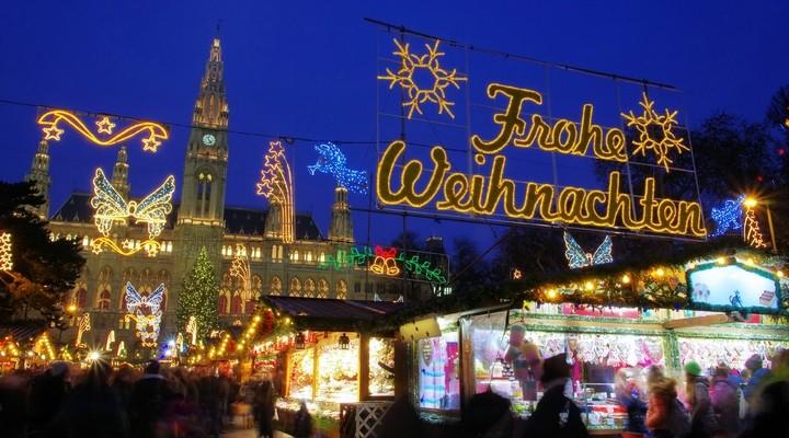 De sfeervolle kerstmarkt in Wenen
