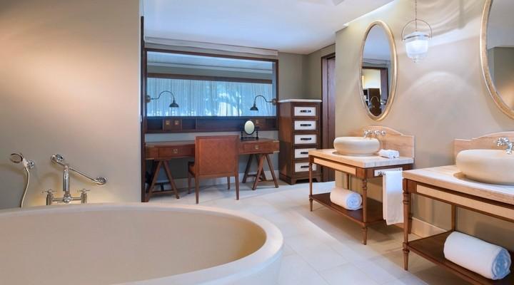 Badkamer van Junior Suite