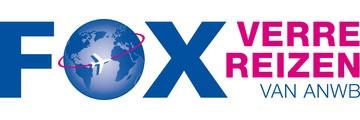 Logo van FOX, verre reizen van ANWB