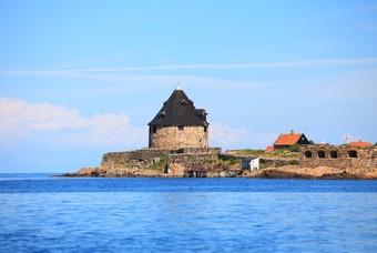 Fort Bornholm eiland Denemarken