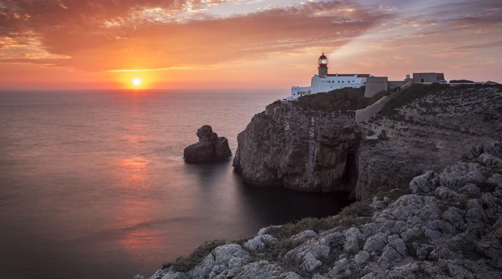 Sagres in het zuidwesten van de Algarve