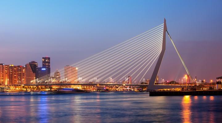 Erasmusbrug Rotterdam, Nederland