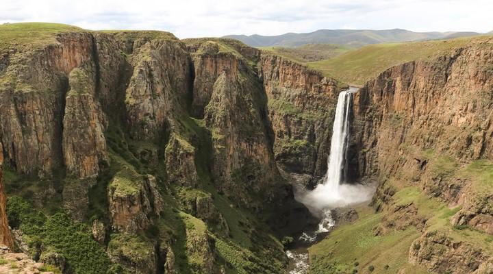 de Canyon in Lesotho