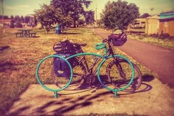 Met de fiets door het Wilde Westen