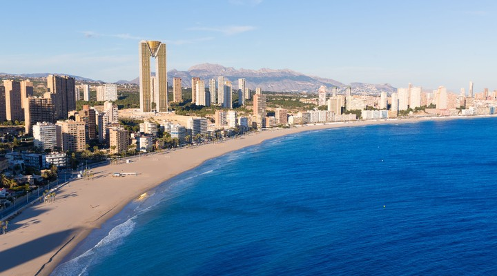 Skyline Benidorm - Spanje