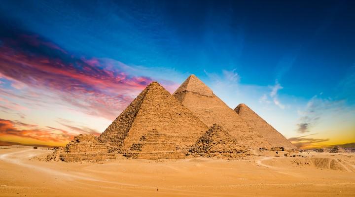 Piramiden in Egypte