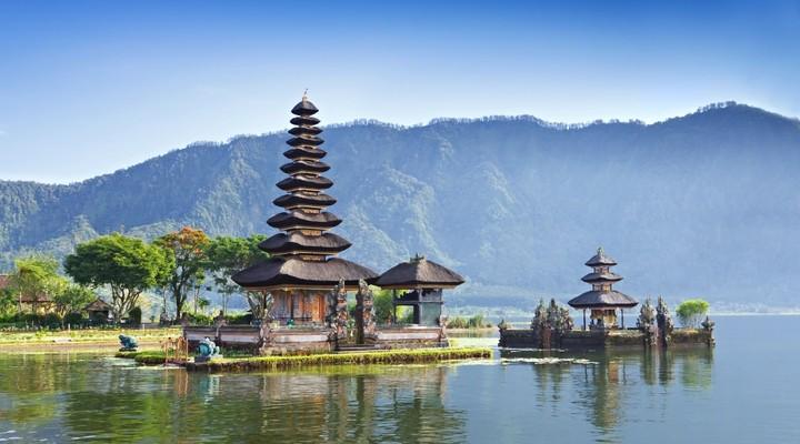 Ulun Danu Tempel in Bali