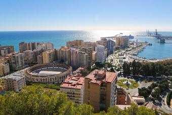 Haven van Málaga - Spanje