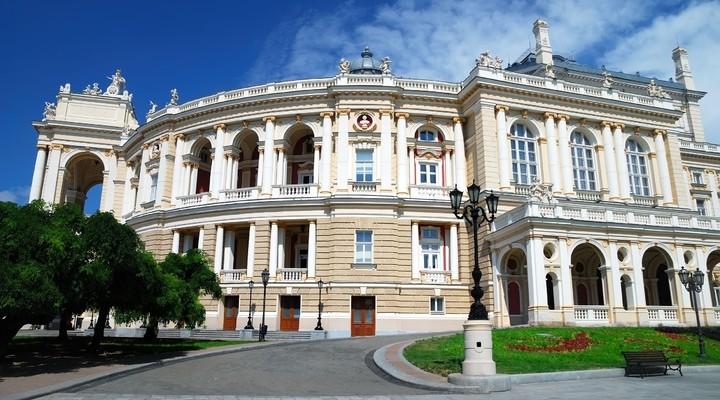 Theater gebouw Opera, Odessa