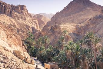 Gebergte in Tunesië