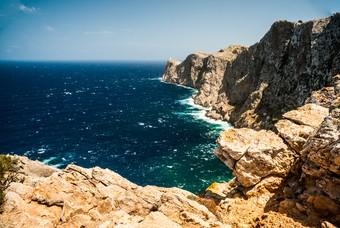 De kust van Mallorca