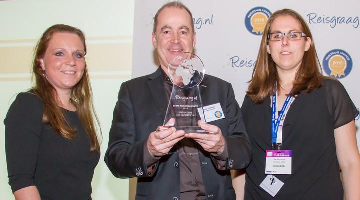 Van Nood Reizen met Reisgraag award