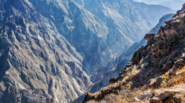 De prachtige Colca Canyon