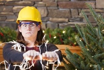Kerstverlichting grootste irritatiebron kerstboom