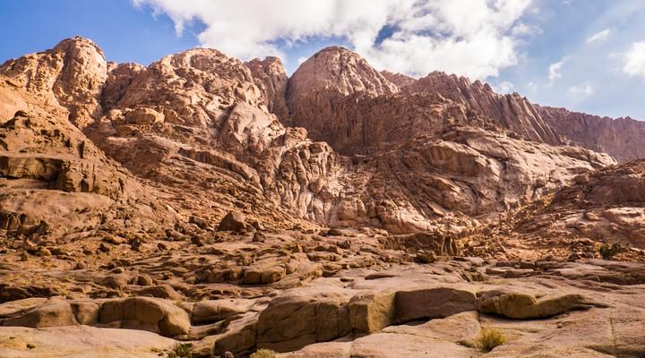De droogte van de Sinaï