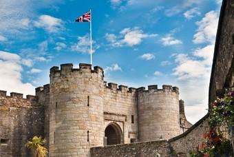 Het schitterende kasteel Stirling Castle