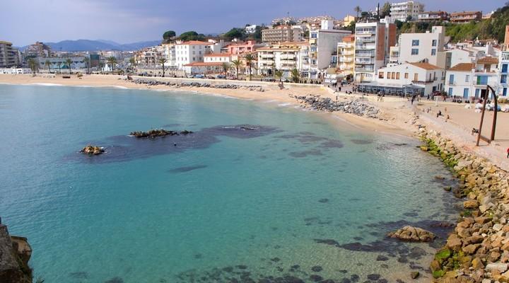 Strand Blanes - Spanje