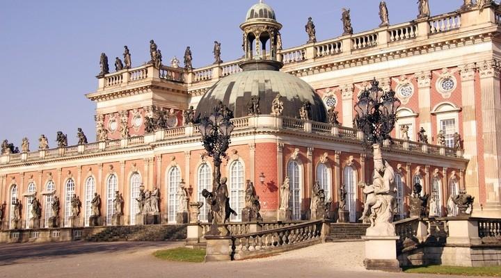 Nieuwe paleis, park Sanssouci, Potsdam