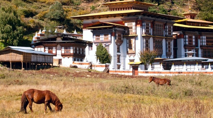 Bumthang vallei