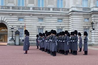 Buckingham Palace Londen Engeland