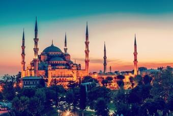 Blauwe Sultan Ahmet moskee, Istanbul