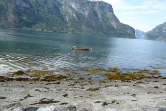 Hei Norge! Fjorden in Noorwegen
